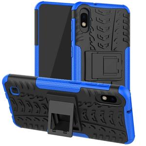 Rugged Cover Case for Samsung Galaxy A10 Case Samsung A10 A10S A20S A30 A40 A51 A70 Shockproof Hard Silicone Armor Phone Case(China)