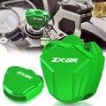 Для KAWASAKI ZX6R ZX-6R 2000 2001 2002 2003 2004 2005 2006 2007-2020 ABS (ключ без чипа) чехол для ключа CNC мотоцикла