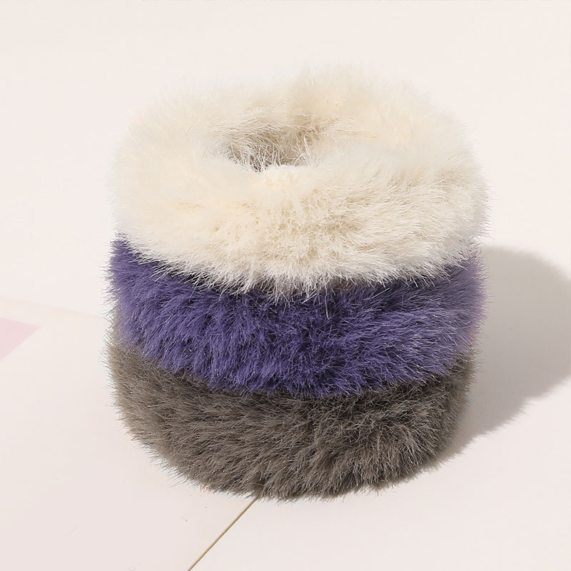 Ponytail-Holder Hair-Accessories Rubber-Band Scrunchie Soft Elastic Girls Cute Women