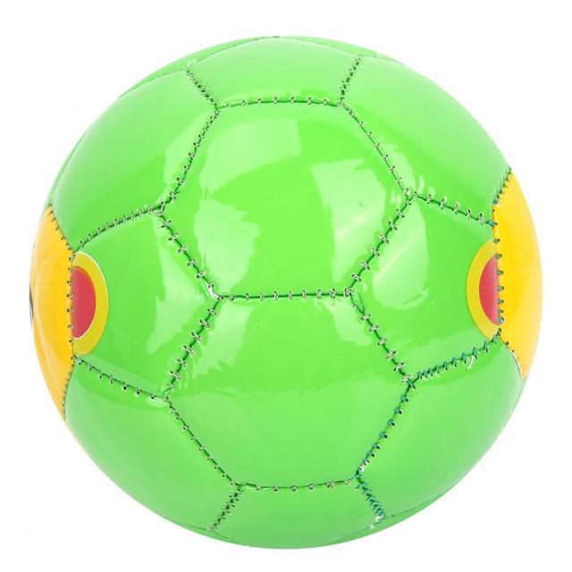 Football Children Outdoor Sport Football Soccer Ball Size 2 Exercise Sports Equipment(Green Pig) Net