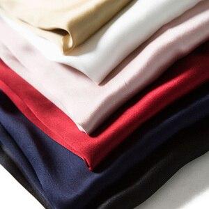 Image 4 - SuyaDream النساء الحرير الدبابات 100% الحرير الحقيقي الحرير س الرقبة قميص بدون أكمام 2020 الصلبة الصيف سترات