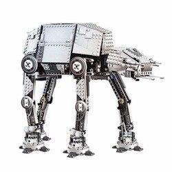 1267 pces star fighter at-ap robô elétrico moc motor blocos de construção brinquedos para crianças presentes de natal