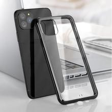 Luxury Clear Silicon Soft Coque For iPhone 11 Pro Max Transparent Case for iphone pro Back Cover Casing