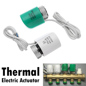 1PC New Thermal Electric Actuator Electrothermal Valve Convenient Thermostat Manifold Normally Open Close Floor Heating Parts