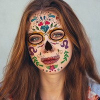 Kids Waterproof Durable Temporary Fake Tattoos Children's Funny Colorful Face Stickers