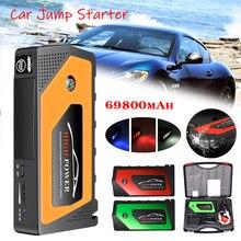 цена на 69800mAh Car Jump Starter Battery 12V 600A Portable Car Emergency Battery Multi-funtional Car Booster Jump Starter Power Bank