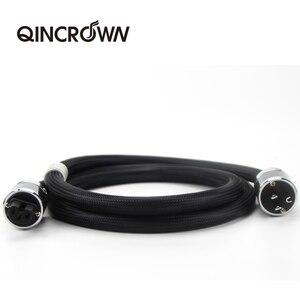 Image 2 - QINCRQWN Cable de alimentación de Audio HIFI, con enchufe estadounidense, australiano, Europeo, 4N, cable de CA, cable de audio hifi, amp cd