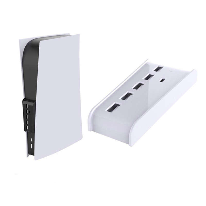 For PS5 USB Hub Adapter 6 Ports USB 3.0 USB A TYPE-C 3.1 Expander Splitter