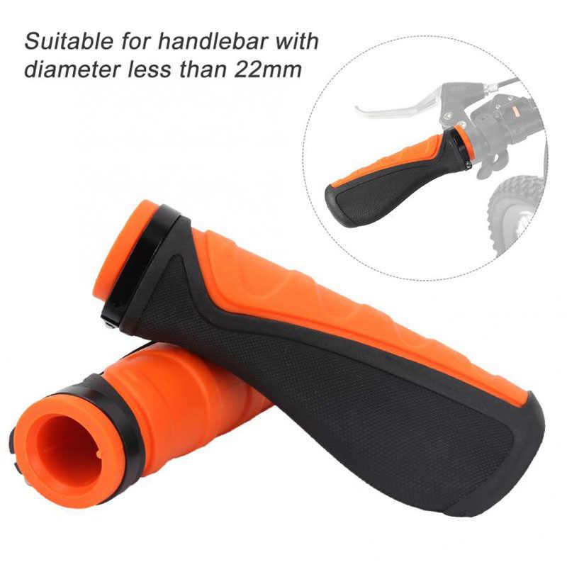 Оптовая продажа, резиновые ручки для руля, противоскользящие эргономичные велосипедные ручки, ультралегкие ручки для велоспорта