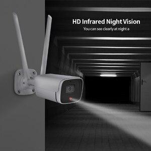 1080P FHD наружная металлическая IP камера Wi-Fi 4G версия sim-карта видеонаблюдение камера видеонаблюдения пули CCTV Двусторонняя камера