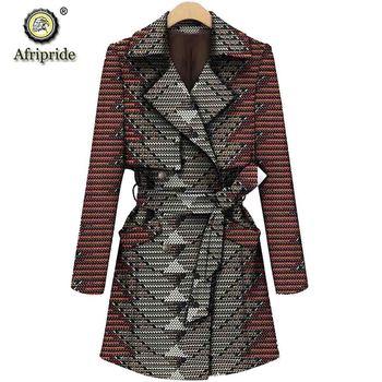 African coats for women AFRIPRIDE bazin riche ankara print pure cotton private custom wax batik lining S1824017