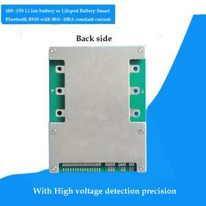 Image 2 - 48v 100A החכם BMS עם Bluetooth ומחשב תקשורת עבור 54.6V ליתיום 18650 סוללות של חשמלי אופנוע li PCB לוח