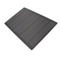 Panel Solar de silicio policristalino, células solares epoxi estándar, módulo de cargador de batería de bricolaje, teléfono móvil Mini, 500mA, 18V, 9W