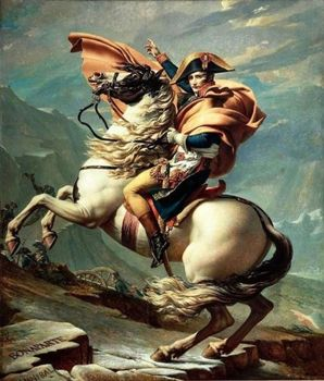 """Details about  perfact 24x36 oil painting handpainted on canvas """"Napoleon riding a horse"""""""