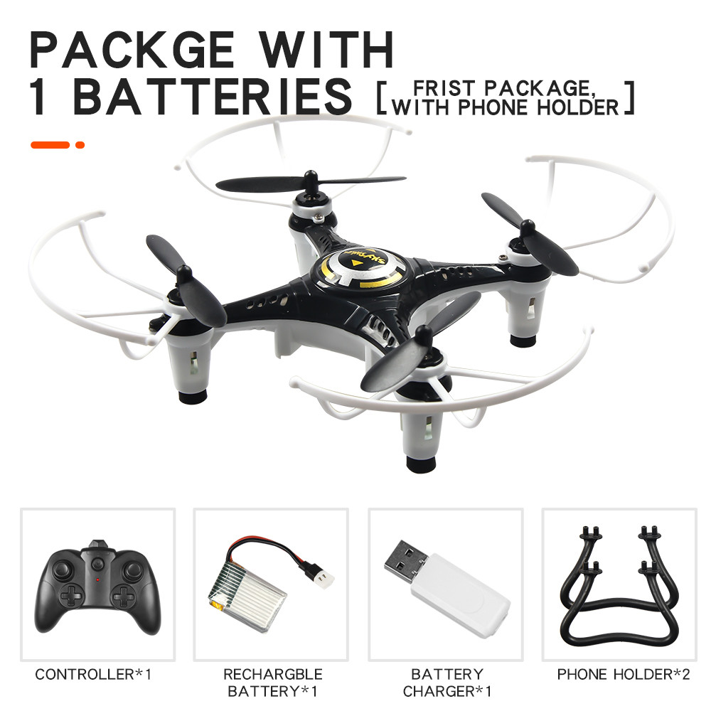 MINI RC Drone 3D Flips 2.4G 4CH 6 Axis RC Quadcopter 3D Flips VS H36 RC Drone Toys For Kids Children Christmas Gifts