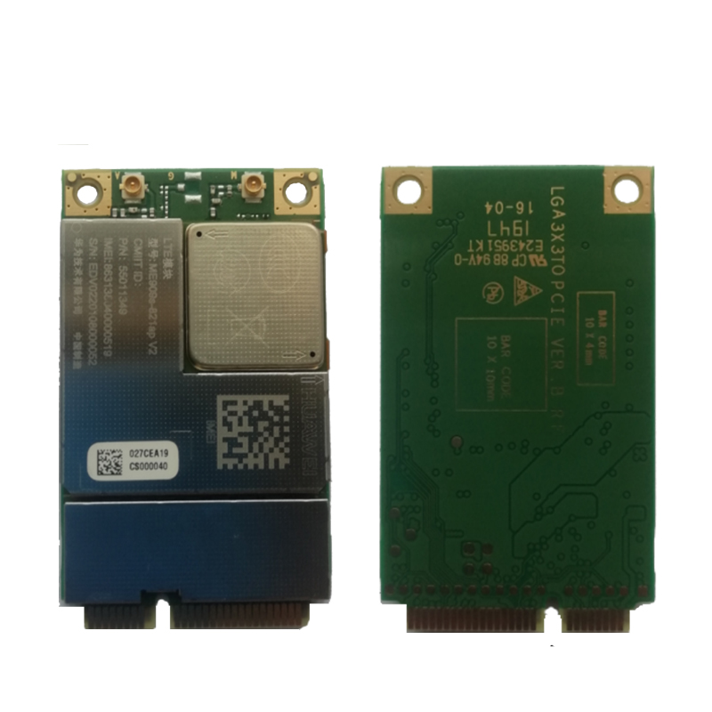 JINYUSHI For Huawei ME909s-821A V2 Mini PCIe LGA 2020 FDD LTE 4G WCDMA GSM Completely Replace ME909S-120 ME909S-821