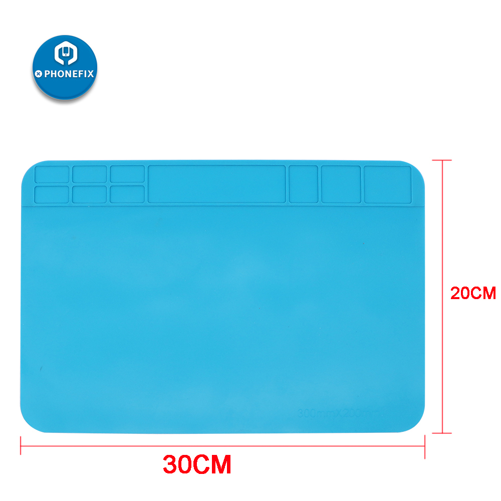 Unversial Anti Static Heat Insulation Solder Silicone Pad Platform For IPhone Samsung Laptop Computer PCB Motherboard Repair