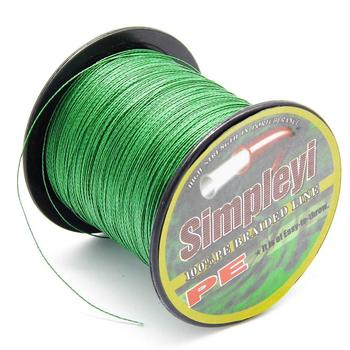 Simpleyi 100M 6-100LB PE Multifilament Sea Super Braided Japan Strong Fishing Line Carp Fishing For Fish Rope Cord 100m pe braided wire fishing line 4 strands 13 118lb japan multifilament carp fishing for fish wire rope cord