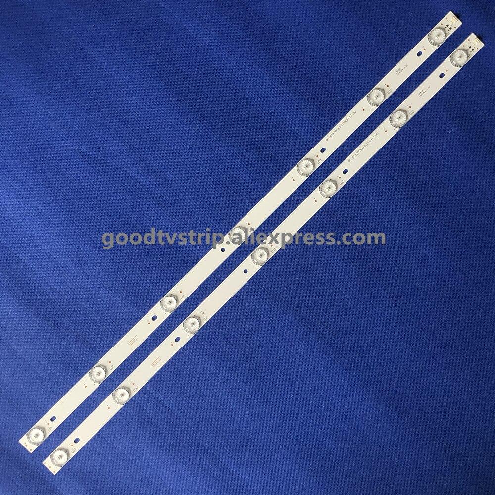 100% New 2pcs/Kit LED strips for 32 TV C320X15 E6 H G1 RF BS320E30 0701S 17 B0