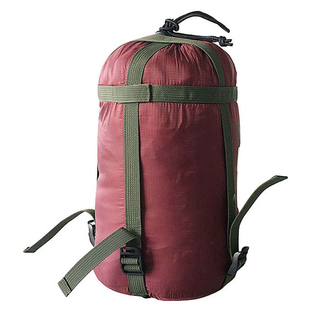 Waterproof Compression Stuff Sack Outdoor/Camping Sleeping Bag Storage Pack With Drawstring Nylon Coated Silicon Fabric New O9
