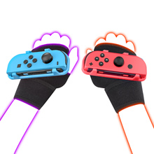 For Nintendo Switch Just Dance 2020/2021 accessories for Joy-Con Controller Armband Adjustable Elastic Dance Strap Wrist Band