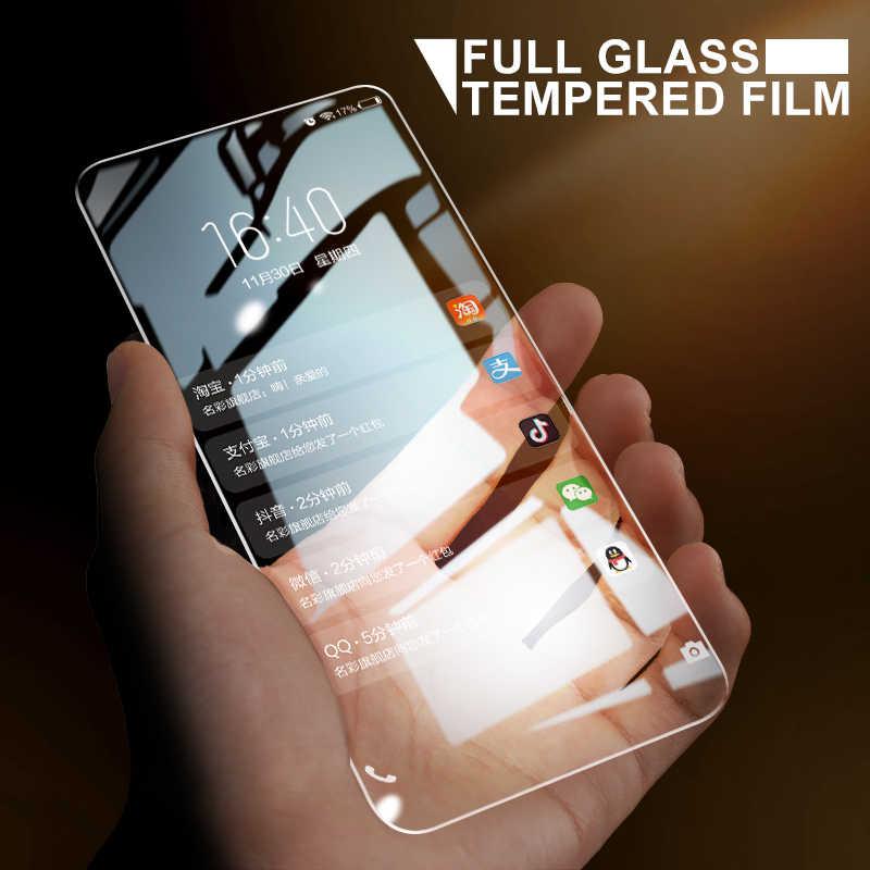كامل الغراء الزجاج المقسى لهواوي الشرف 9 10 لايت الزجاج واقي للشاشة ل الشرف 7A 7C برو 8C 8X 8A 9X زجاج واقي فيلم
