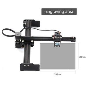 Image 5 - 20W 레이저 조각 기계 고속 데스크탑 레이저 조각기 프린터 휴대용 가정용 예술 공예 DIY 레이저 조각 커터
