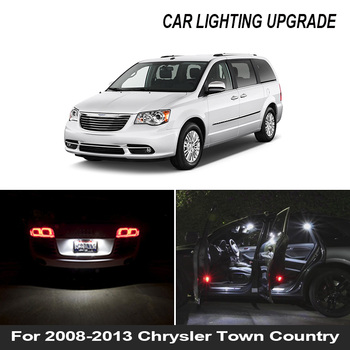 20pcs white premium led interior map dome reading light kit license plate light for volvo xc60 2009 20xx with install tools 13x White Car Canbus LED Interior Light Bulbs Kit For 2008-2013 Chrysler Town Country Map Dome Trunk License Plate Door Lamp