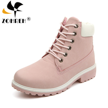 2019 Hot New Autumn Early Winter Shoes Women Flat Heel Boots Fashion Keep warm Womens Brand Woman Ankle Botas Camouflage