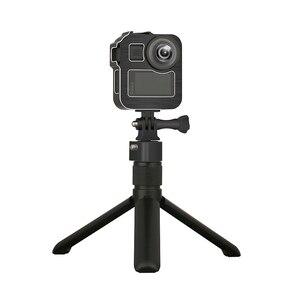 Image 3 - Alüminyum alaşım koruyucu kafes standart çerçeve 2 soğuk ayakkabı dağı GoPro Max 360 eylem kamera canlı akışı Vlog parçaları