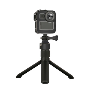 Image 3 - Aluminum Alloy Protective Cage Standard Frame with 2 Cold Shoe Mount for GoPro Max 360 Action Camera Live Streaming Vlog Parts