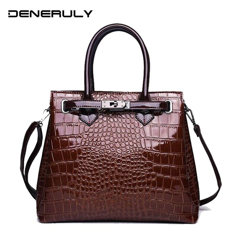 2019 Leather Crossbody Bags Women Luxury Brand Handbags Women Bags Leather Designer High Quality Top handle Bag Sac Main Femme|Shoulder Bags| |  - title=