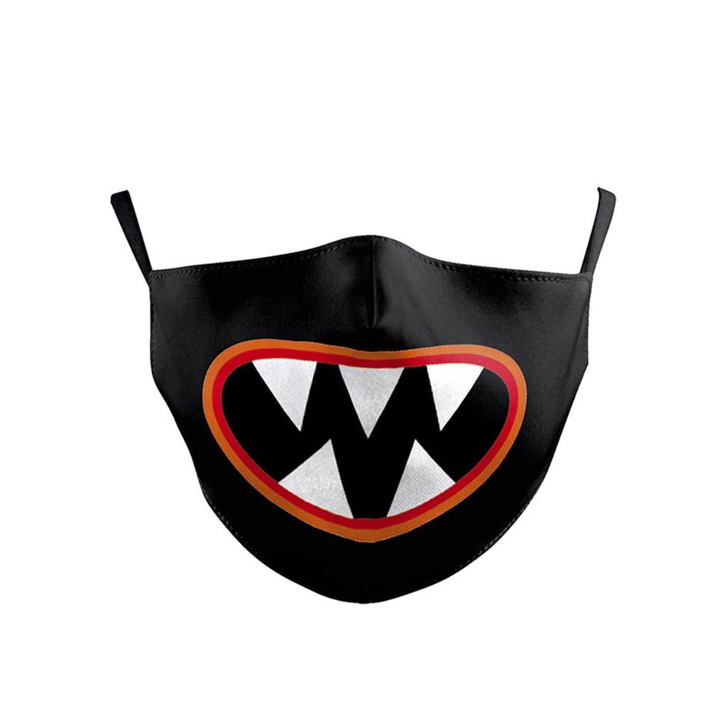H01eaef684c274054a2501f56f00c08b6l Kawaii Maska Kids Boys Girls Facemask birthday Party facemask Washed Reusable Maska Camping Travel