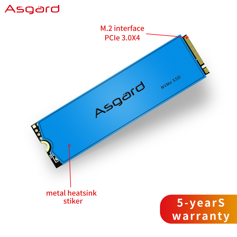 Asgard M.2 ssd M2 PCIe NVME 1TB 2TB disco duro interno 2280 para ordenador portátil con caché Unidades de estado sólido internos    - AliExpress