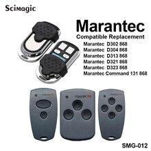 Marantec باب المرآب التحكم عن بعد 868.3MHz Marantec الرقمية 302 304 321 323 382 384 بوابة المرآب التحكم الأوامر 868 MHz فتاحة