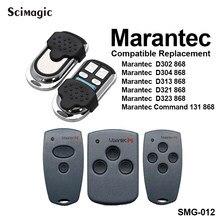 Marantec d302 d304 d321 d323 d382 d384 comando 868.3 mhz garagem abridor de porta marantec digital 302 868 controle remoto