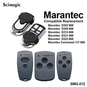 Image 1 - Marantec Garage door remote control 868.3MHz Marantec Digital 302 304 321 323 382 384 gate control garage command 868 MHz opener