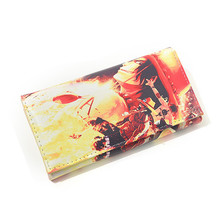 Women Purse Coin Faux Leather Card Anime Wallet One Piece Bifold Package Holders Clutch Lady PU mens gentleman black real genuine cowhide leather bifold clutch wallet coin purse pouch id card dollar package indian head