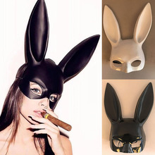 1Pc Halloween Laides Bunny Mask Party Bar Nightclub Costume Rabbit Ears Festival Hairband CostumeCM