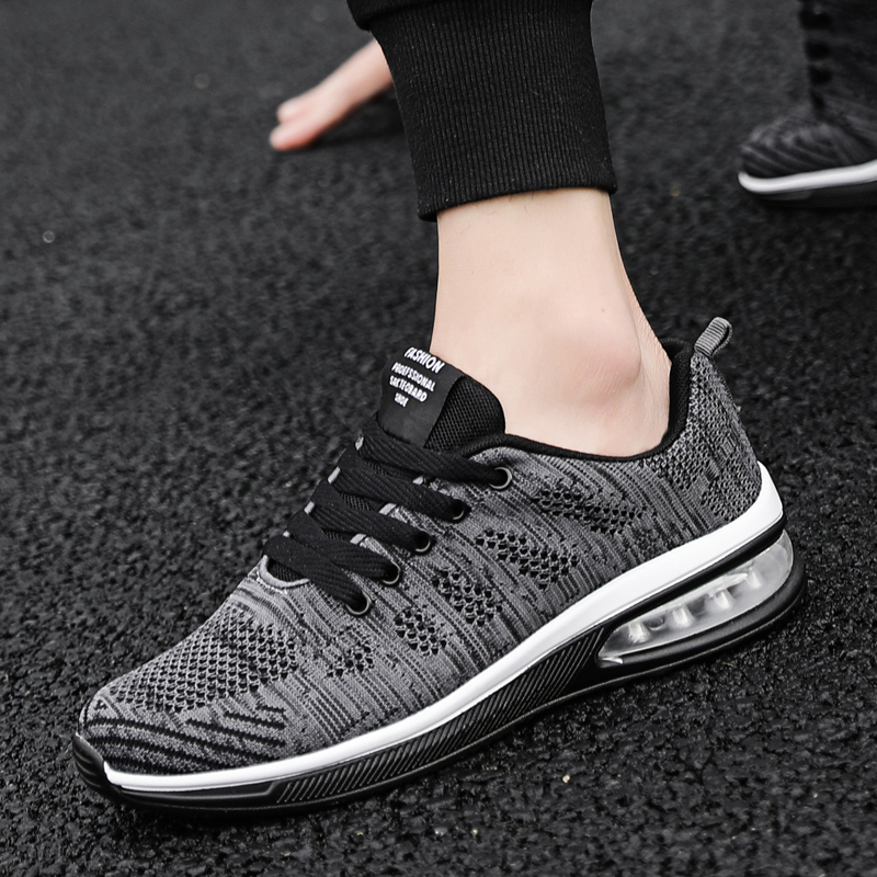 Lightweight Fashion Sneakers Men Air 270 Mesh Breathable Athletics Running Shoes Male Anti Slippery Deportiva Casual Sport Shoes