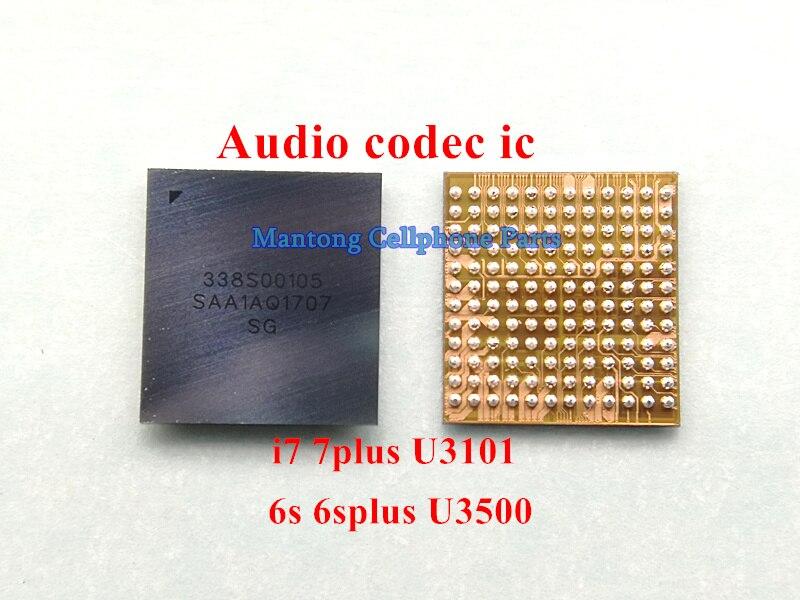 10 шт./лот 338S00105 большое кольцо аудио IC чип для iPhone 6s 6s-plus 7 7plus