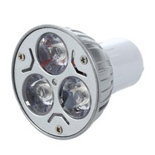 GU10 LAMP LIGHT BULB has 3 LED WARM WHITE 3W 5W 12V(China)