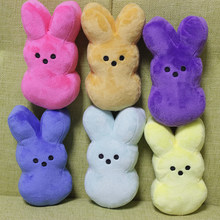 Easter Bunny Peeps Plush Toy Sexy Soft Cute Rabbit Pillow Simulation Stuffed Animals Doll Kawaii Home Decor Gifts For Girls Kids
