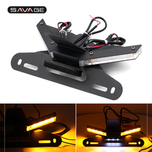 Tail Tidy Fender Eliminator For DUCATI Panigale V4 2018 19 2020 2021 Motorcycle License Plate Holder Integrated LED Turn Signal