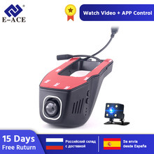 E-ACE C21 oculta Mini cámara Wifi coche grabadora de vídeo Dashcam Novatek 96655 SONY IMX 323 noche Full HD 1080P coche Dvr(China)