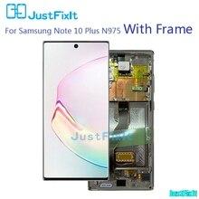 Originale Per Samsung Galaxy Note 10/Nota 10plus/Nota 10 +/Nota 10 pro Lcd con cornice del Display Touch Screen Digitizer Assembly