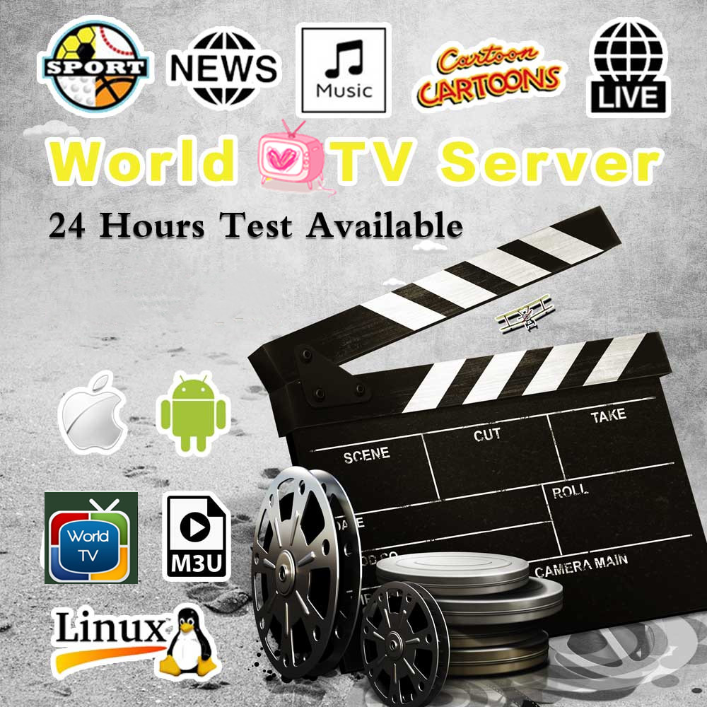 2020 1/2/3 Month IPTV Tv-Box Nederlands  Dutch Sweden Germany  Spain Italy  Europe Subscription Android M3u Free Testing