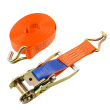 Porable Heavy Duty Tie Down Cargo Strap Luggage Lashing Strong Ratchet Strap Belt With Metal Buckle 5m/8m/10m buckle tie down belt car cargo strap strong ratchet belt luggage cargo lashing