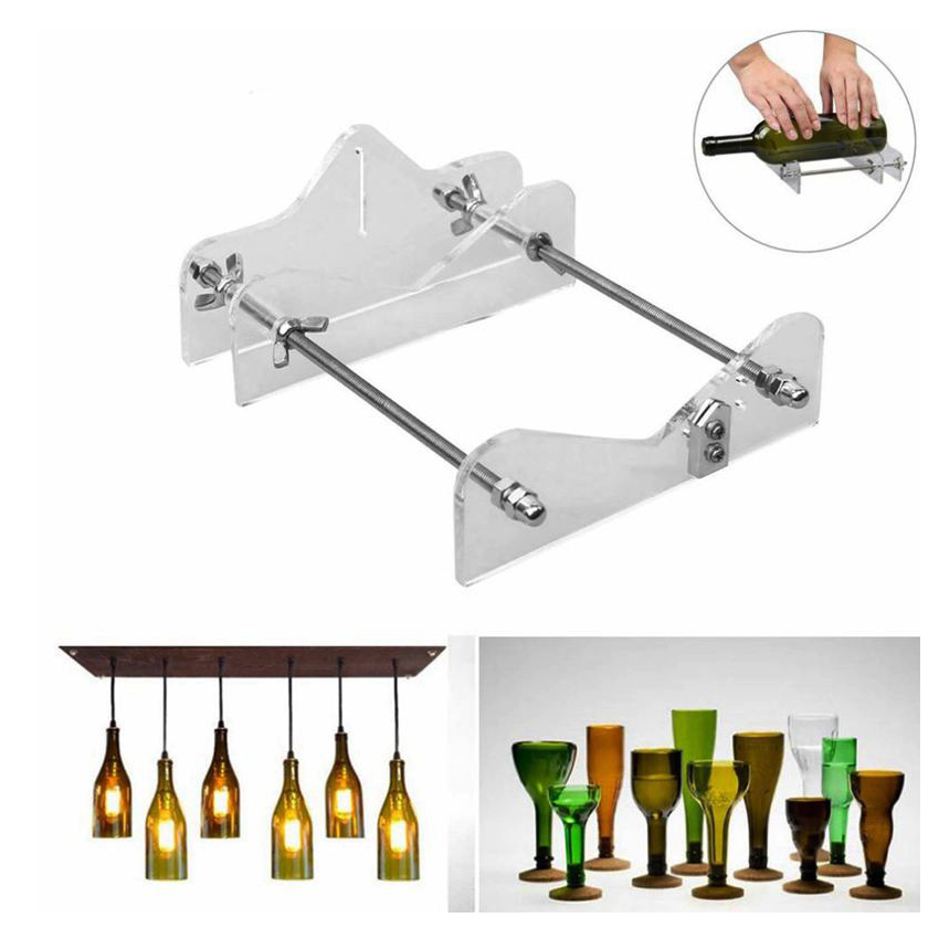 Professional Crafts Artwork Glass Bottle Cutter Tool For DIY Glass Bottle Cutting Wine Beer Bottle Cutter With Screwdriver