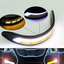 2 sztuk 12V LED samochodów światła do jazdy dziennej DRL światła przeciwmgielne niski pobór mocy wodoodporny światło dzienne Led światła przeciwmgielne dla samochodów